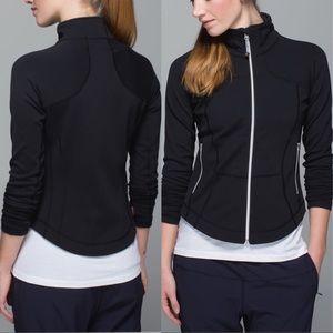 Vintage Lululemon Shape Jacket Sz 8 In Black